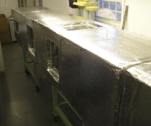 High Temperature Recirculating Duct